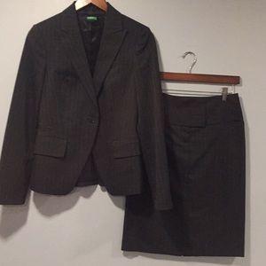 Benetton skirt suit